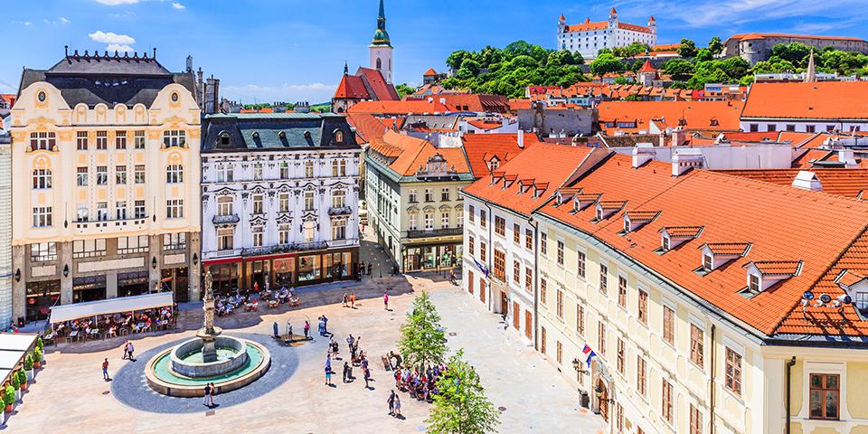 Hyggelige Bratislava.