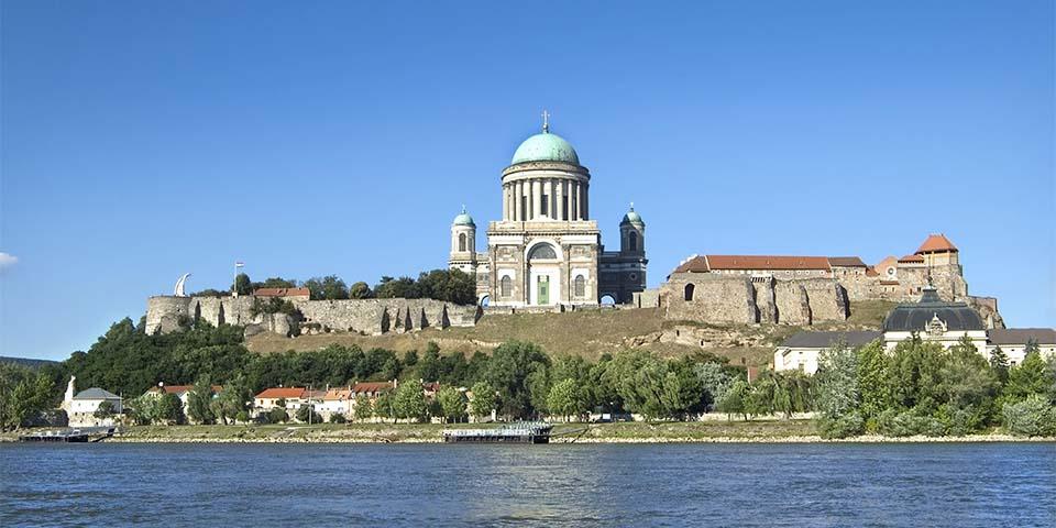 Den smukke og imponerende Esztergom Basilika.