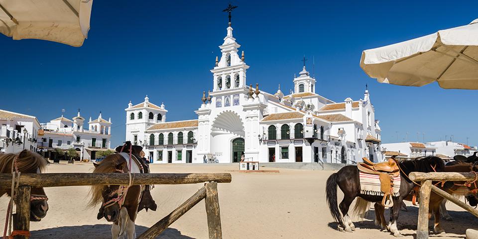 Cowboybyen El Rocio.