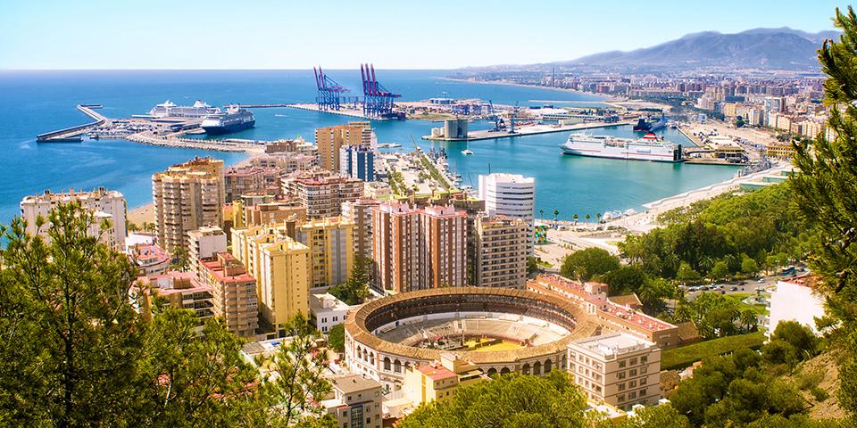 Malaga - Picassos fødeby.