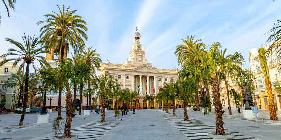Rådhuset i Cádiz.