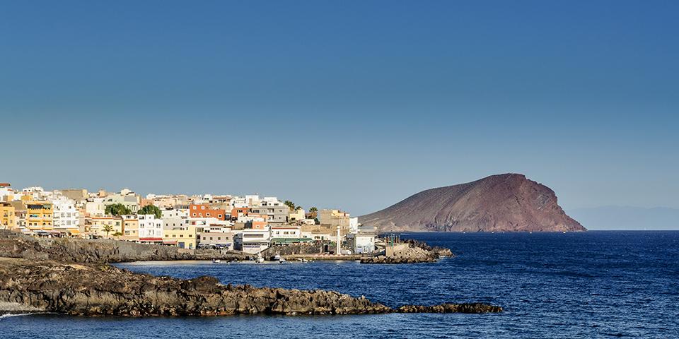 Los Christianos på Tenerife.