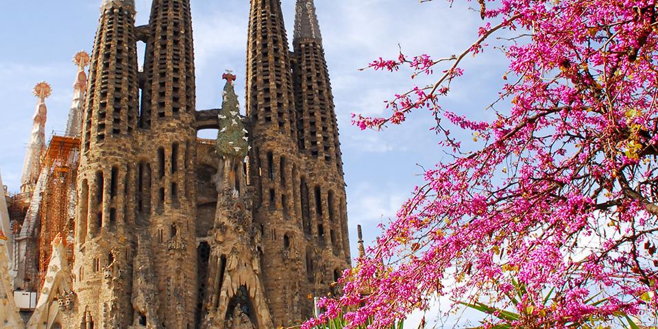Gauidis La Sagrada Familia i Barcelona.