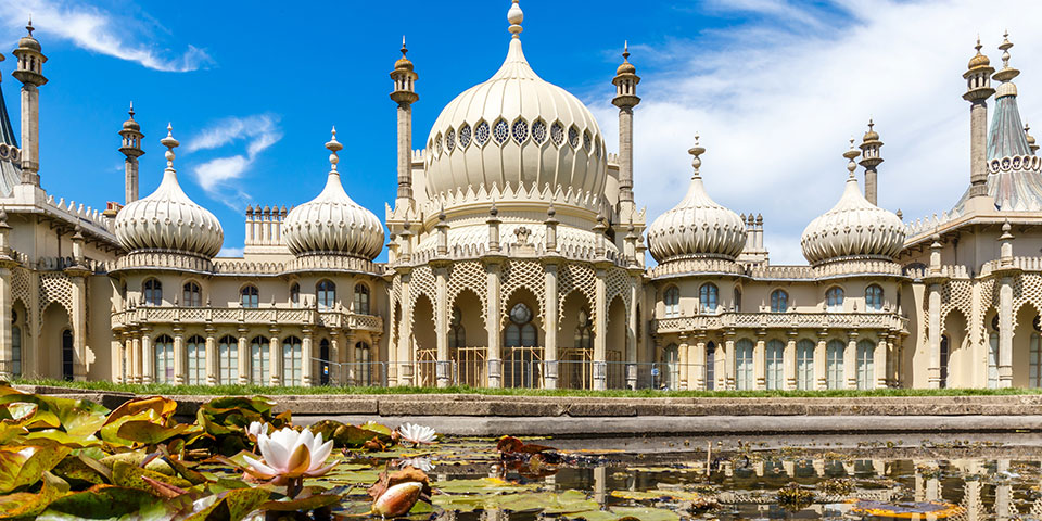 Royal Pavillion i Brighton.