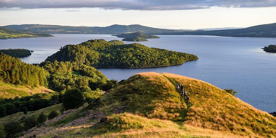 Loch Lomond - Dronningen blandt søer i Skotland.