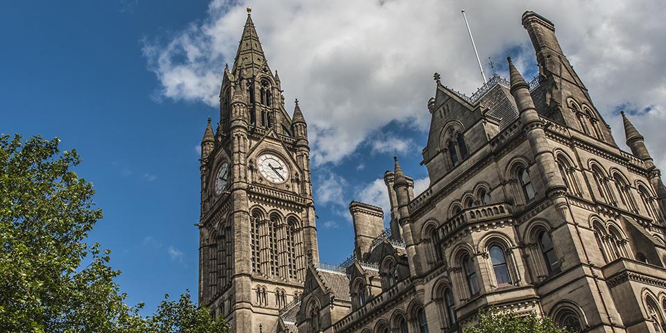 Albert Memorial Clock Tower i Belfast.