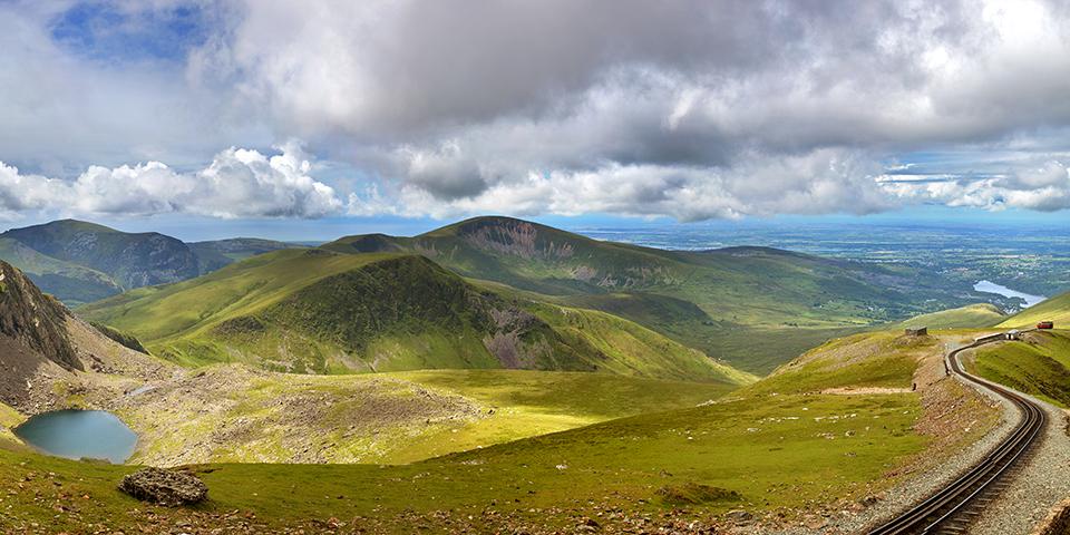 Det naturskønne Snowdonia.