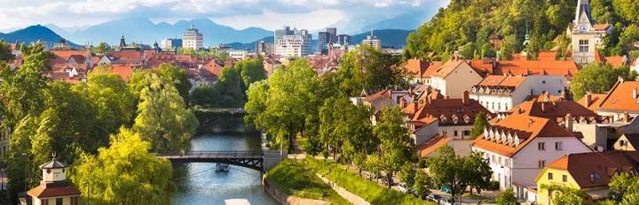 Bled i Slovenien