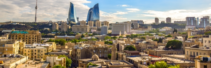 Baku i aserbajdsjan
