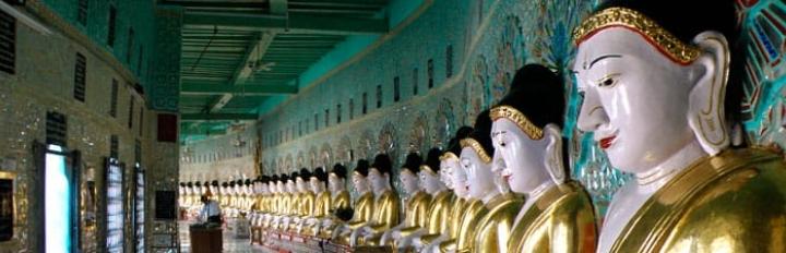 Statuer i Myanmar