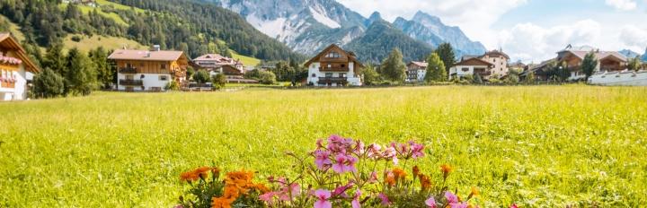 Idylliske Tyrol.