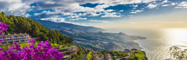 Udsigt over Cap Girao på Madeira.