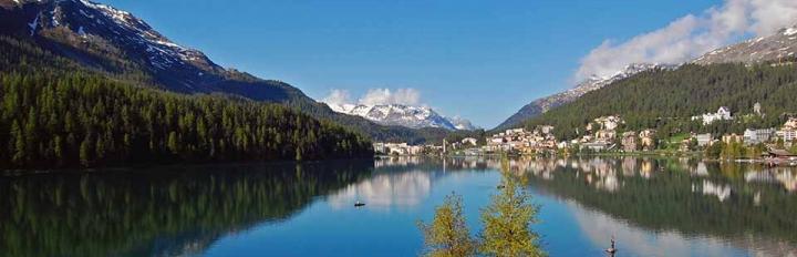 Naturen i Schweiz er billedskøn