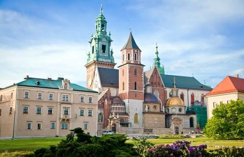 Wawel Katedralen i Polen - Krakow