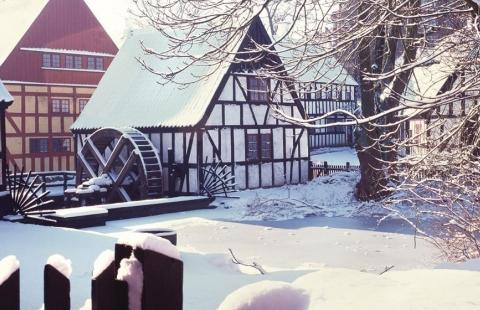 Sne og jul i Århus
