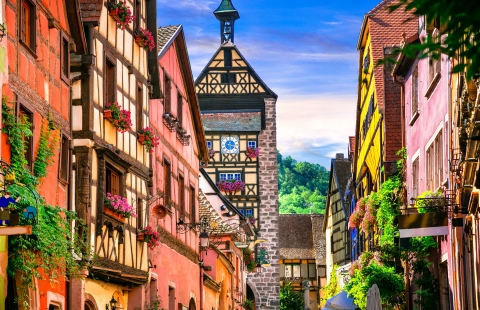 Riquewier i Alsace.