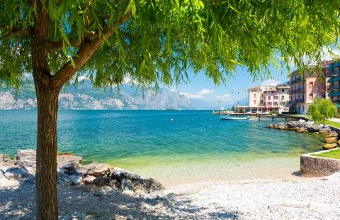 Stemningsbillede fra Gardasøen.