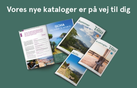 Nye kataloger fra Vitus Rejser - Vinter 2018 - 2019