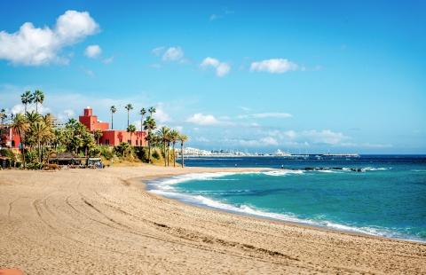 Benalmadena på Costa del Sol.