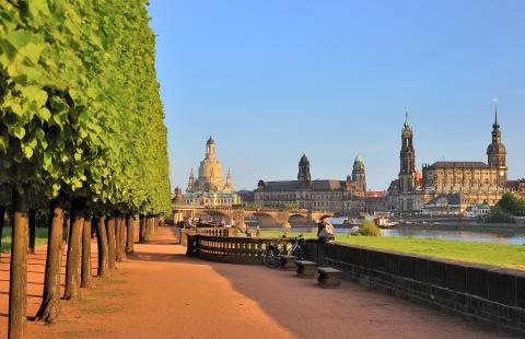 Stemningsfulde Dresden.