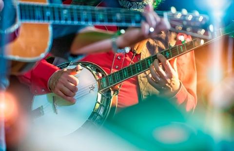 Musikere i Nashville.