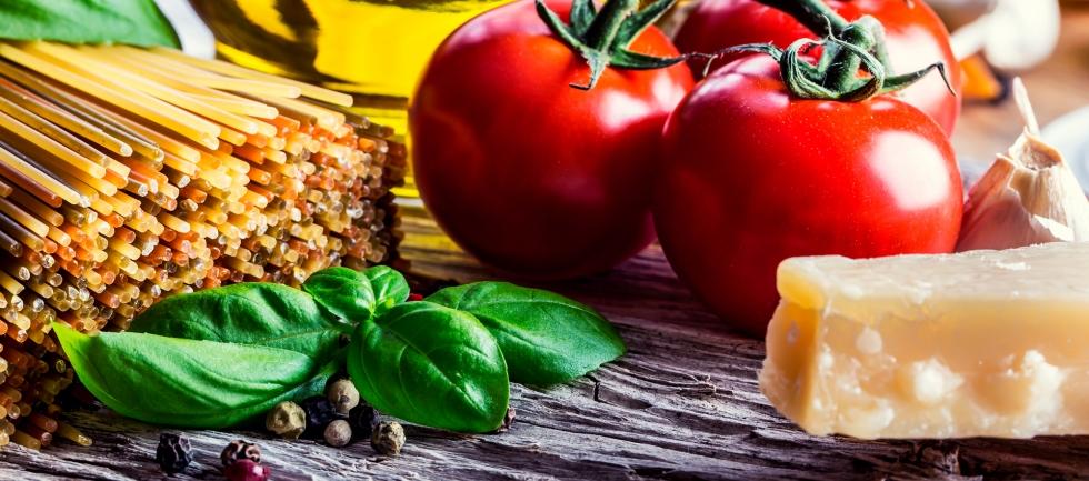 Tema - maden i Italien