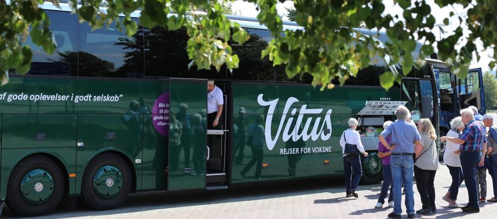 Køreplaner og opsamlingsruter på busrejser