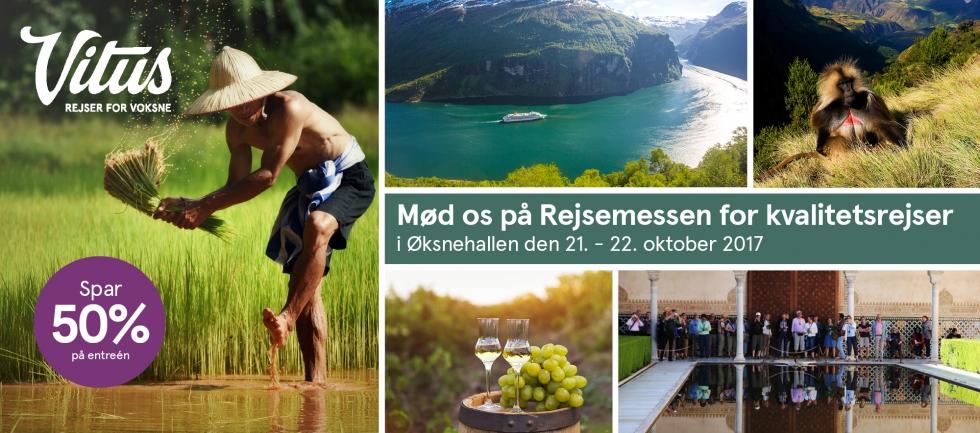 Rejsemessen for kvalitetsrejser 2017.