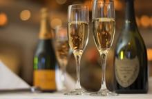 Billede af champagneflaske