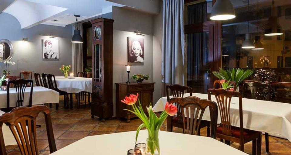 Restauranten på Marina Hotel.