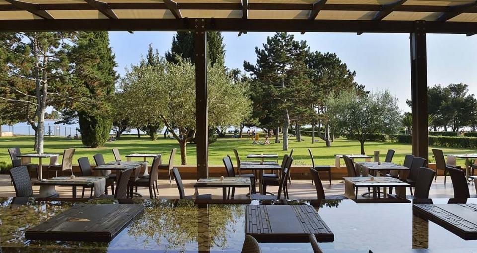 Restauranten på Hotel Laguna Materada.