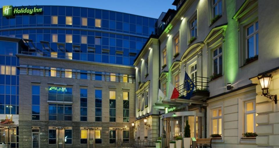 Holiday Inn i Krakow.