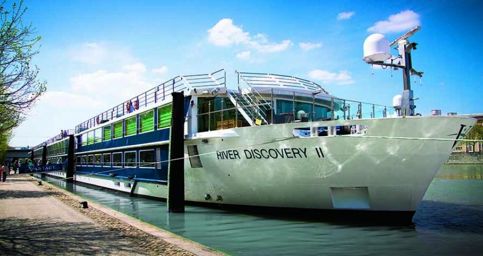 Det flotte skib River Discovery II.