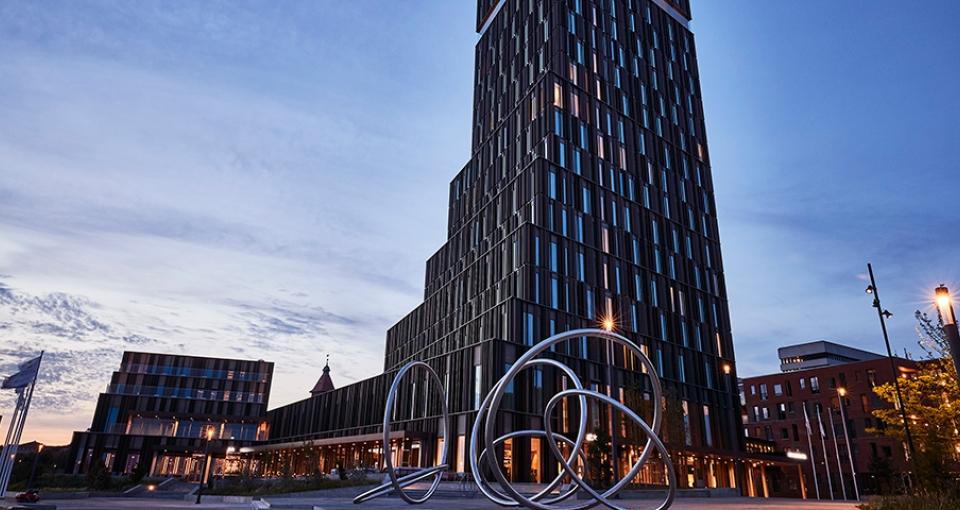 Det imponerende Alsik Hotel & Spa.