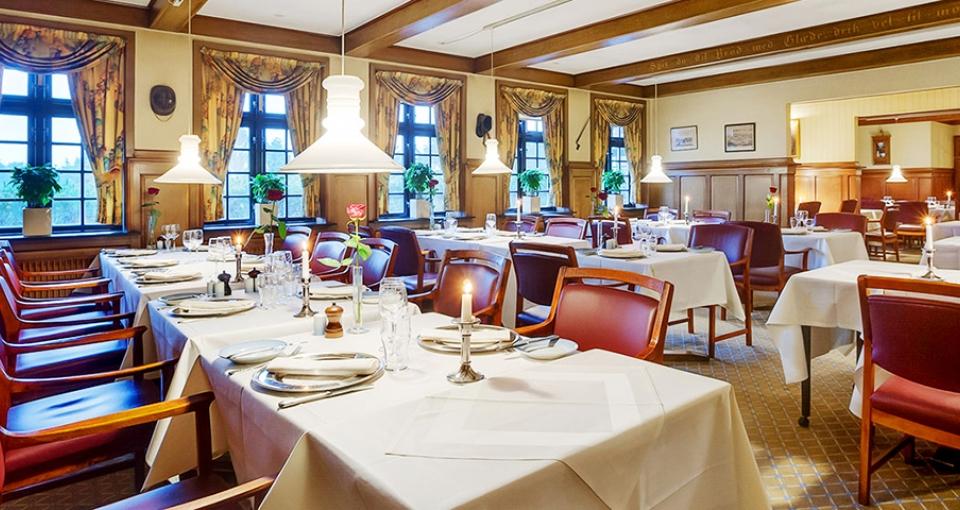 Restauranten på Kryb i Ly Kro.