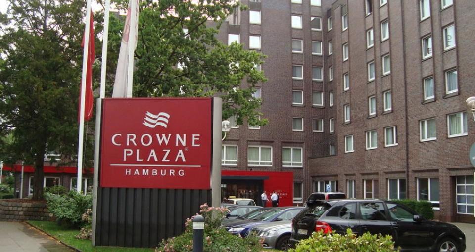 Hotel Crown Plaza Hamburg City Alster.