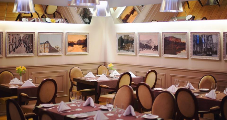 Restauranten på Opera Hotel & Spa.