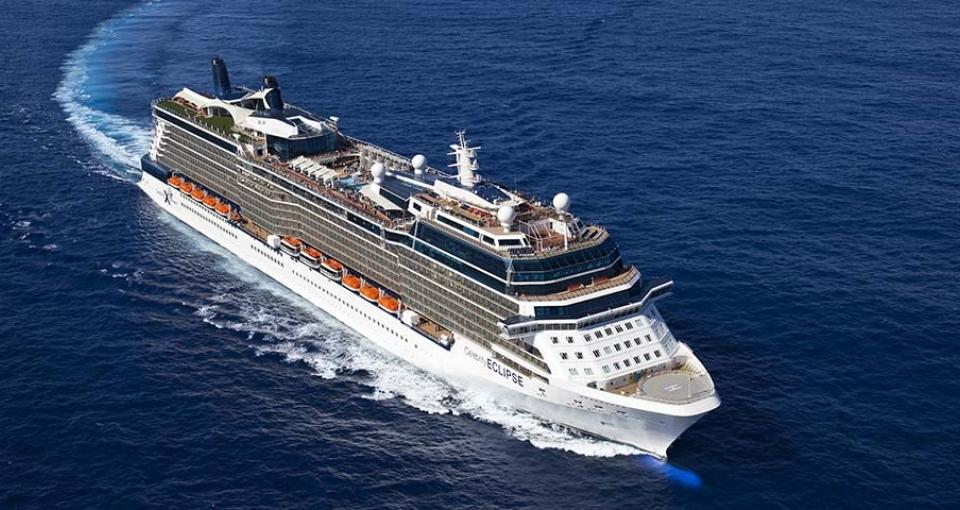 Det flotte skib Celebrity Eclipse.