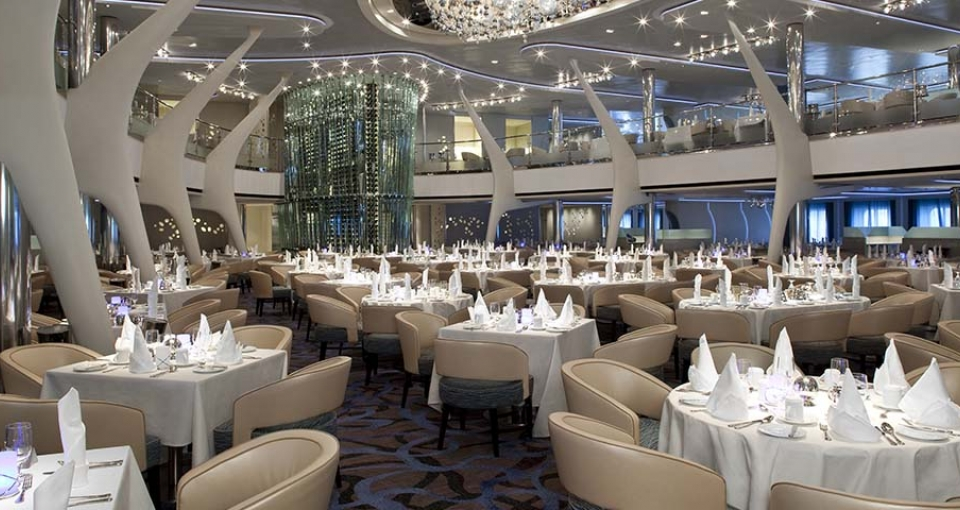 Al Carte restauranten Moonlight på Celebrity Eclipse.