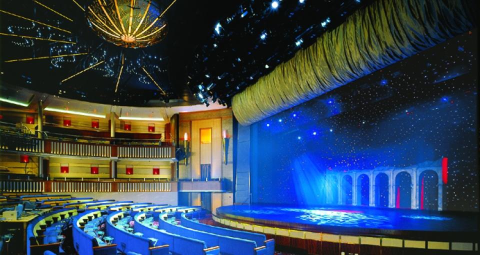 Teateret på Celebrity Infinity.