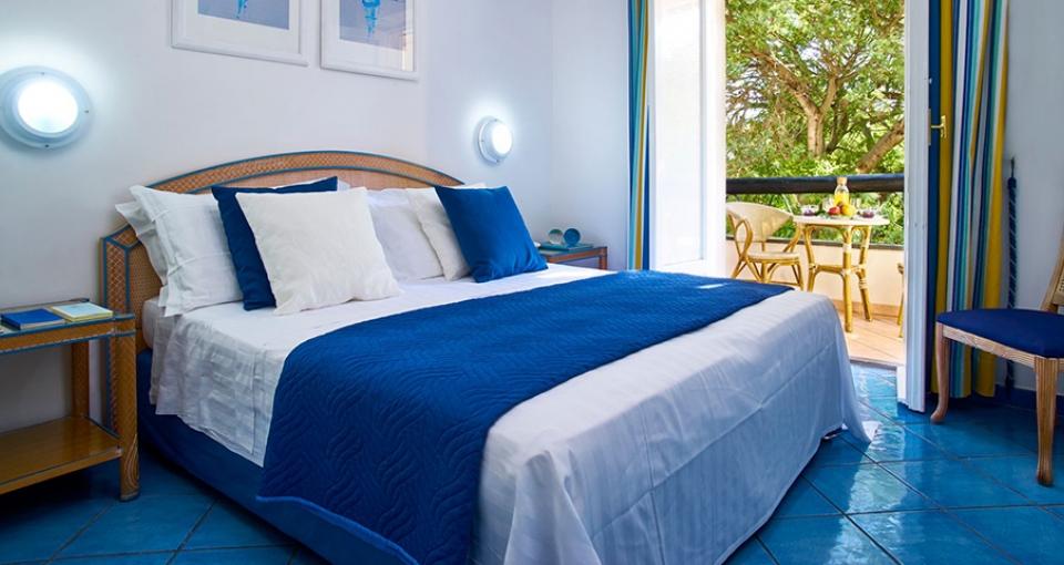 Standard dobbeltværelse på Central Park Hotel Terme.