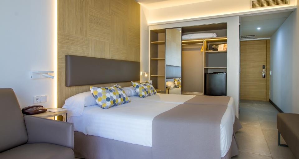 Eksempel på Comfort dobbeltværelse.