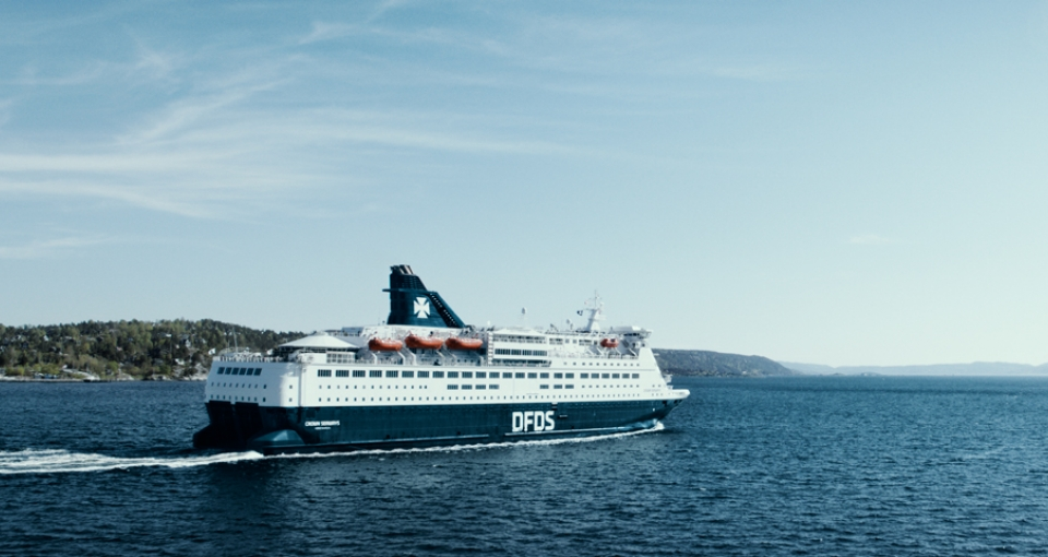DFDS Crown Seaways.