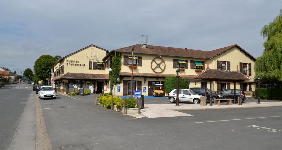 Hotel Auberge Champenoise.