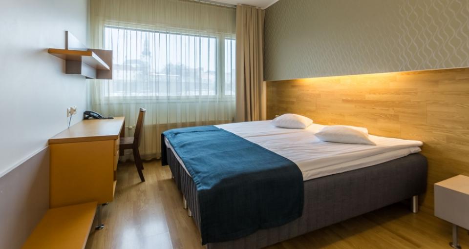 Dobbeltværelse på Go Hotel Shnelli.