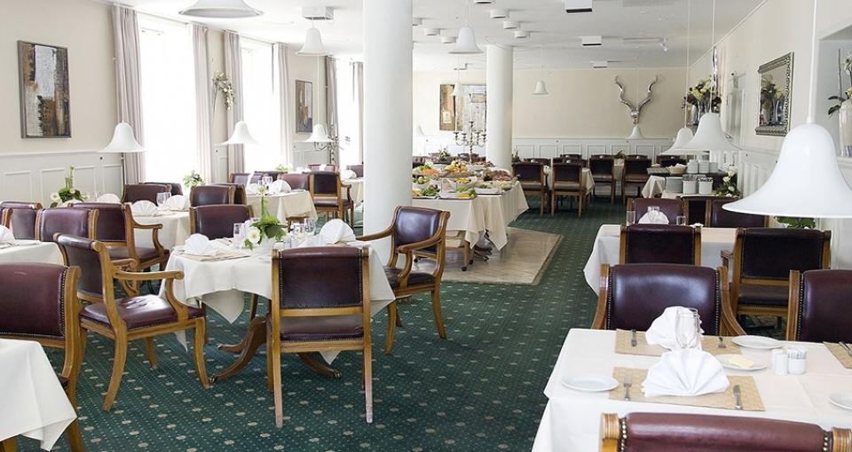 Restauranten på Best Western Golf Hotel Viborg.