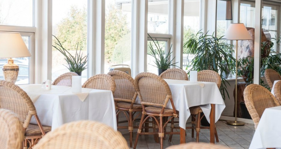 Restaurant Det Rustikke Landkøkken på Hotel Årslev Kro.