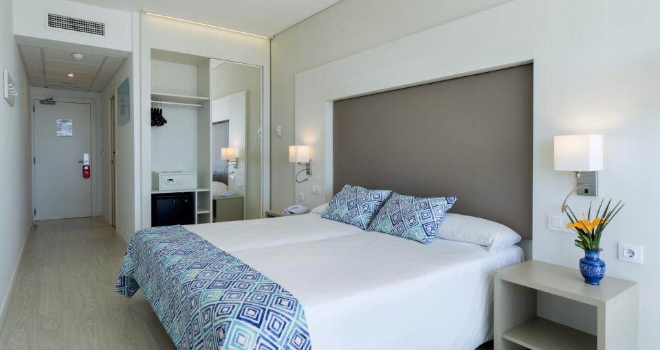 Eksempel på dobbeltværelse på Hotel Alay.