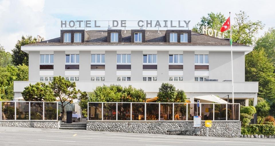 Hotel de Chailly-Sur-Montreux.