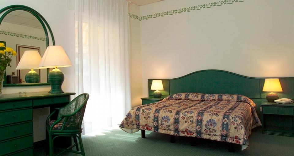 Værelse på Hotel Diana.